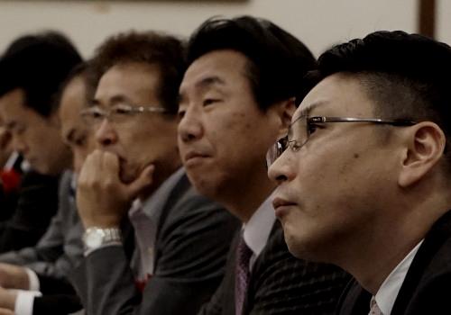 「研究開発テーマ発表大会」、来年は自分たちがイノベーションを起こしたいと誓いました。